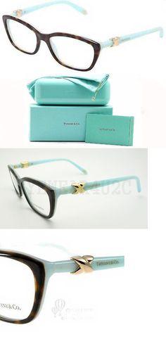 7d32e14ffcb Eyeglass Frames  New Authentic Tiffany Tf2074 2074 Eyeglasses 8134 Top  Havana Blue 54Mm -