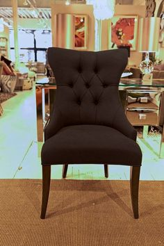 Deco Tufted Back Chair - Bernhardt