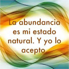 #UniversoDeAngeles Decreto sobre la abundancia.