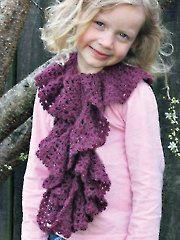 Crochet Baby & Kids Downloads - Spiraling Scarflet