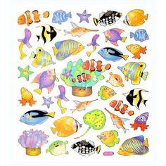 NEU Hobby-Design Sticker Fische [Haushaltswaren]