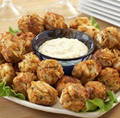 Crispy Crab Balls...Old Bay Recipes