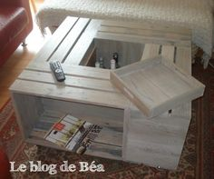 1000 ideas about table basse bar on pinterest coffee tables pallets and w - Acheter table basse palette ...