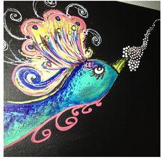 Peacock Art 1.50 m x 40 cm