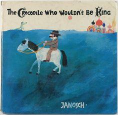 キュリオブックス 【THE CROCODILE WHO WOULDN'T BE KING】