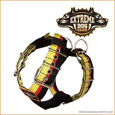 Exreme Dog Gear sport harness WWW.EXTREMEDOGGEAR.COM