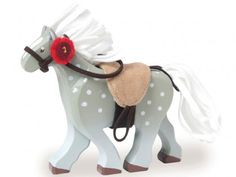 Le Toy Van - Grey Horse with Saddle (Budkins)