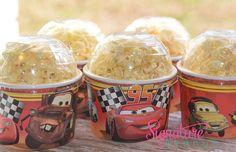 Disney Cars Birthday Party-Ice Cream Cups-Mini Popcorn Favor Box-Set of 8 on Etsy, $10.40