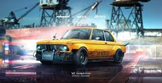 1974 BMW 2002 Speedhunters Need for speed tribute by yasiddesign on DeviantArt
