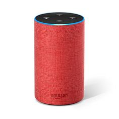 Echo Generation) - Smart speaker with Alexa, (RED) edition Amazon Echo, Amazon Kindle, Best Valentine's Day Gifts, Track Workout, Amazon Deals, Electronic Devices, Dating Tips, Apple Music, Speakers