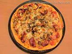 Pizza aux champignons et chorizo - Meilleur du Chef