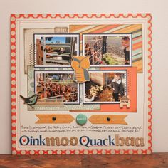 OinkMooQuackBaa, by Cassandra Cyr, using the NoelMignon Gather Together kit.