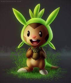 chespin by vesner.deviantart.com on @deviantART