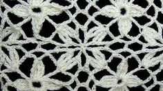 Crochet : Cuadrado con Flor - YouTube