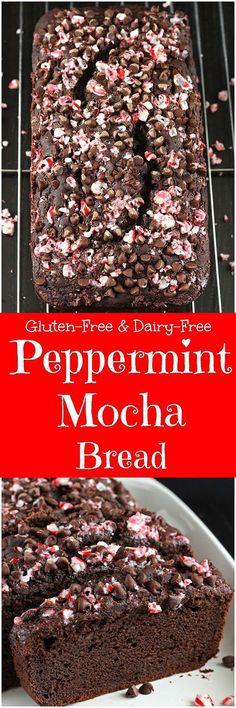 Peppermint Mocha Bread [gluten-free / dairy-free]