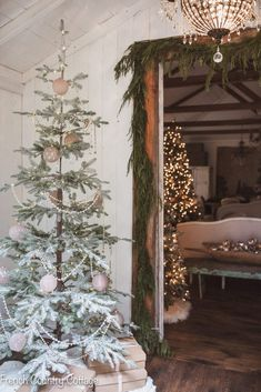 A peek at Christmas through the house - Holiday Housewalk - French Country Cottage
