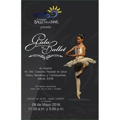 @Regrann from @balletdelamar -  Preparados para la gala de este Domingo! Una gala de lujo en la que podremos disfrutar el material que será expuesto en la competencia de Mérida 2016. Pueden adquirir sus entradas en la taquilla del Centro de Artes Omar Carreño una hora antes de la función. También en nuestra sede principal de Jorge Coll. Llámanos al (0295)2670415 para más información. Te esperamos. #Ballet #Danza #IslaDeMargarita #Venezuela #HechoEnVenezuela #Regrann