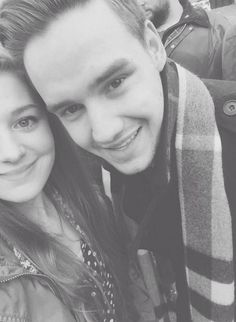 Liam with a fans
