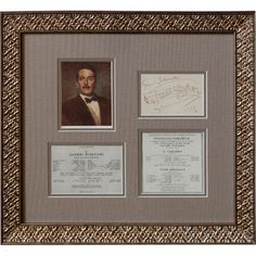 Giacomo Puccini Signature And Musical Quote. Met Opera Shop $5,805