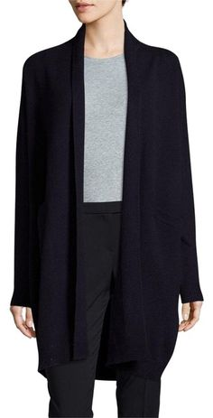 8f294b03e43d Vince Navy Open Front Cardigan Size 0 (XS). Free shipping and guaranteed  authenticity. Tradesy