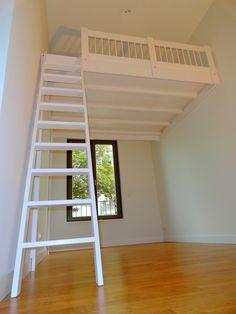 ein hochbett selber bauen diy anleitung hochbett pinterest hochbett hochbett selber. Black Bedroom Furniture Sets. Home Design Ideas
