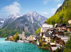הכפר הציורי הלשטאט. מיקום אידיאלי בין הר לאגם נראה כמו חלום... חבל טירול וזלצבורג עם ילדים - אוסטריה - מסע אחר
