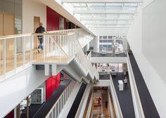 3XN completes Copenhagen hospital building with slanted walls