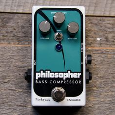 Pigtronix Philosopher Bass Compressor USED