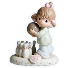 Growing In Grace Age 10 Figurine - Growing In Grace - Figurines - Precious Moments