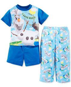 Frozen Toddler Boys' 3-Piece Olaf Pajamas