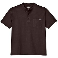 Dickies Men's Big-Tall Heavyweight Henley Mens Big And Tall, Big & Tall, Tuxedo T Shirt, Dickies Workwear, Henleys, Blank T Shirts, Shirt Maker, Cheap T Shirts, Shopping Hacks