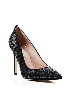 0aa28c20316 SJP by Sarah Jessica Parker Greta Crystal Pumps - 100% Exclusive Shoes -  Bloomingdale s