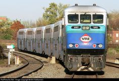 RailPictures.Net Photo: VRE V41 Virginia Rail Express (VRE) EMD F59PHI at Alexandria, Virginia by Bill Hakkarinen