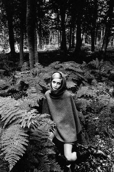 Twiggy photographed by Jeanloup Sieff, 1967