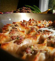 Tortellini With Yogurt, Mint, And Smoked Paprika Oil Recipes ...