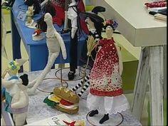 Ateliê na TV - Frida Khalo dolls - YouTube
