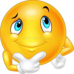 Emoticon happy face are thinking and posing vector image on VectorStock Emoticon Feliz, Happy Face Emoticon, Emoticon Emoji, Emoticon Faces, Funny Emoji Faces, Silly Faces, Cute Emoji, Smiley Emoji, Images Emoji