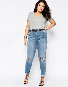Asos Curve Mom Jeans