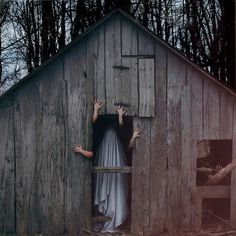 Eerie Ghosts in Christopher McKenney's Horror Photography #inspiration #photography