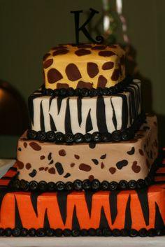 getting this for myself on my next birthday (moose cake birthday) Beautiful Cake Designs, Beautiful Cakes, Amazing Cakes, Jungle Safari Cake, Safari Cakes, Safari Birthday Party, Cake Birthday, Moose Cake, Leopard Cake
