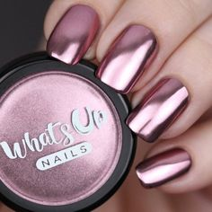 Chrome Powder Create nails that will make your heart blush with this stunning rose chrome mirror powder. Weight: gramsCreate nails that will make your heart blush with this stunning rose chrome mirror powder. Pink Nails, Gel Nails, Acrylic Nails, Pink Chrome Nails, Gold Chrome, Chrome Nail Polish, Powder Nail Polish, Nail Polishes, Coffin Nails