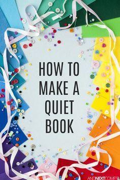 Diy Quiet Books, Baby Quiet Book, Felt Quiet Books, Quiet Book For Toddlers, Quiet Book Templates, Quiet Book Patterns, Quiet Book Tutorial, Silent Book, Sewing Projects