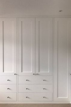 Bedroom Wardrobes by SpacedIn Built In Wardrobe Ideas Alcove, Bedroom Built In Wardrobe, Bedroom Built Ins, Wardrobe Drawers, Bedroom Closet Design, Wardrobe Cabinets, Master Bedroom Closet, Closet Designs, Home Room Design
