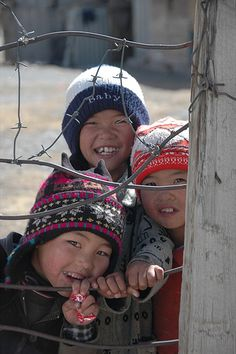 Kyrgyz Mountain Kids - Sary Tash, Kyrgyzstan by uncorneredmarket, via Flickr