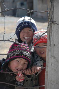 Kyrgyz Mountain Kids - Sary Tash, Kyrgyzstan by uncorneredmarket, via Flickr