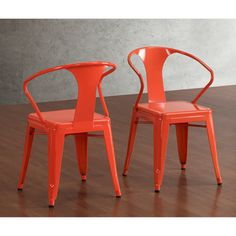 @Overstock - http://www.overstock.com/Home-Garden/Tabouret-Tangerine-Stacking-Chairs-Set-of-4/7213081/product.html?CID=214117 $188.99
