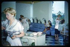 1950s hair salon