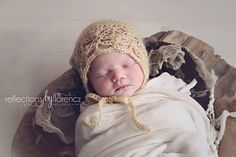 Ravelry: Ella Baby Bonnet pattern by Crochet by Jennifer