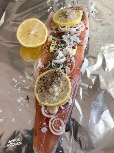 Rödingpaket på grillen » Sevendays Cheesesteak, Chili, Ethnic Recipes, Food, Crickets, Chile, Essen, Meals, Chilis