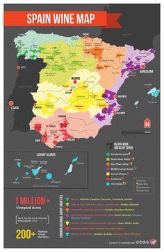De los refrescantes finos de Andalucía a los ricos vinos tintos de La Rioja, España tiene una exquisita cultura del vino tanto para el paladar del especialista como para los no iniciados. Con 50 regiones vinícolas por todo el país que generan vinos tintos, blancos, rosados, espumosos y de jerez, España es el tercer productor mundial de vino. Leer más: http://www.enforex.com/espanol/cultura/vino-espanol.html